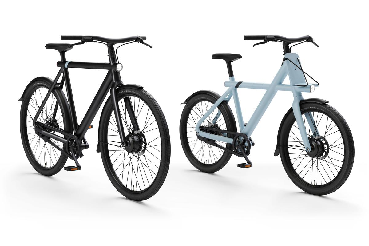 Vanmoof's S3 (left) and X3 (right) city ebikes are due to ship in May