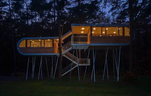 The Treehouse project by Baumraum architects