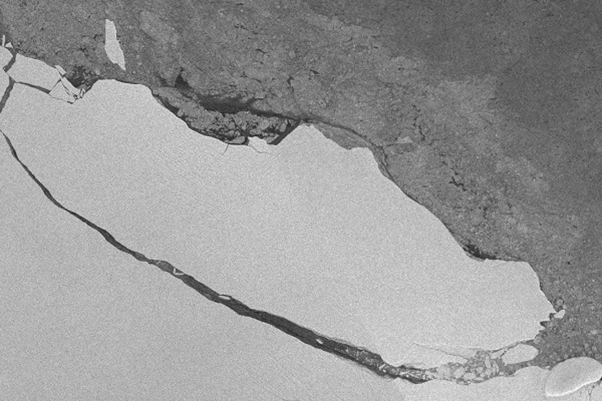 A huge chunk of the Larsen C ice shelf broke off last month, but researchers say this might not be the end of the story