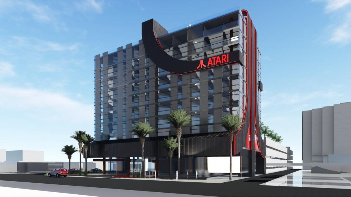 There are a total of eight Atari Hotels planned so far