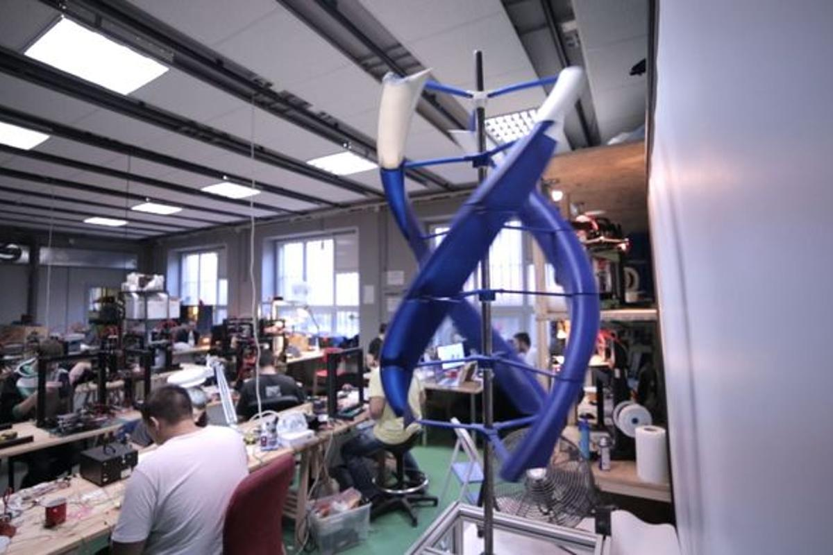 The AirEnergy3D Project is an open source, 3D printed, portable wind turbine prototype