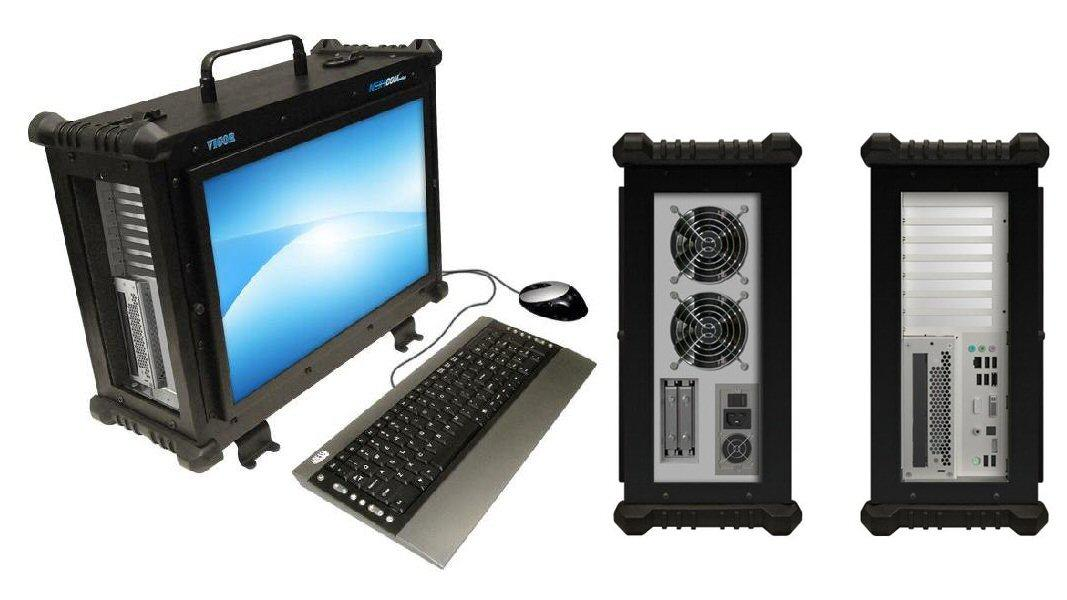 The Vigor EX rugged all-in-one workstation from NextComputing benefits from a durable dual chassis design, up to 48GB of RAM, over 7TB of storage and a choice of processing options, including a six-core Core i7 Extreme Edition 980X