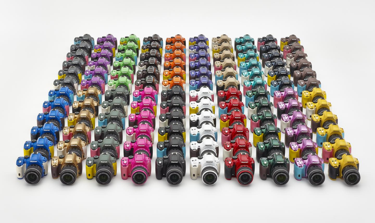 There are 20 body colors to choose from and six grip colors, with buyers being able to select from up to 120 combinations