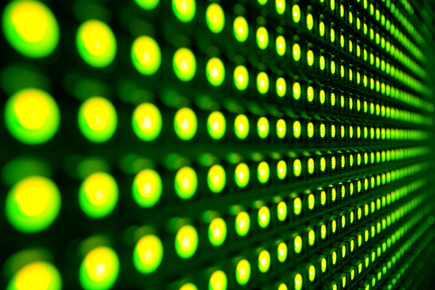 Researchers at Princeton University claim to have increased the light output of organic LEDs by 57 percent (Photo: Shutterstock)