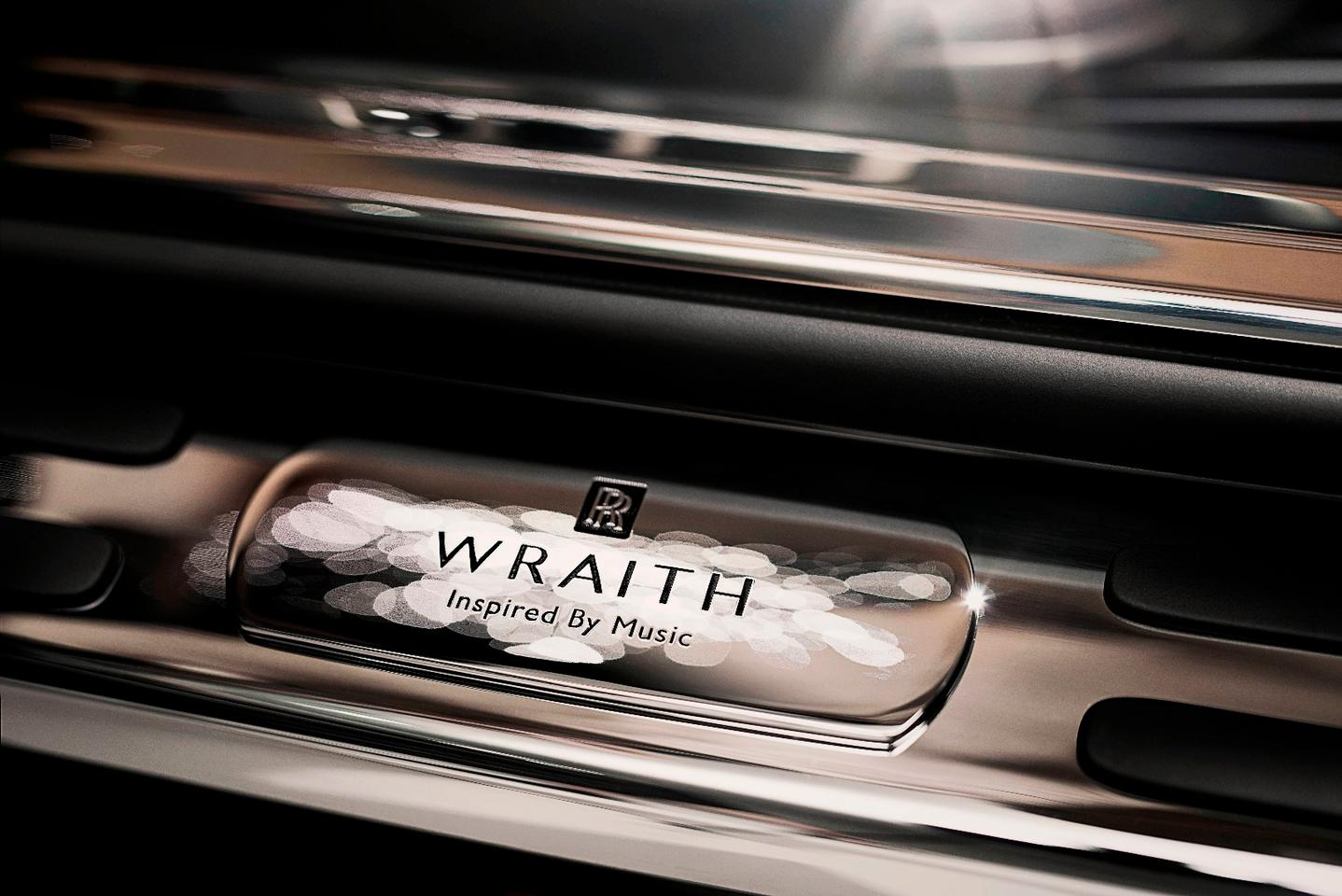 The Wraith Inspired by Music is aimed at audiophiles who want to emulate Elvis and John Lennon in owning a Rolls Royce