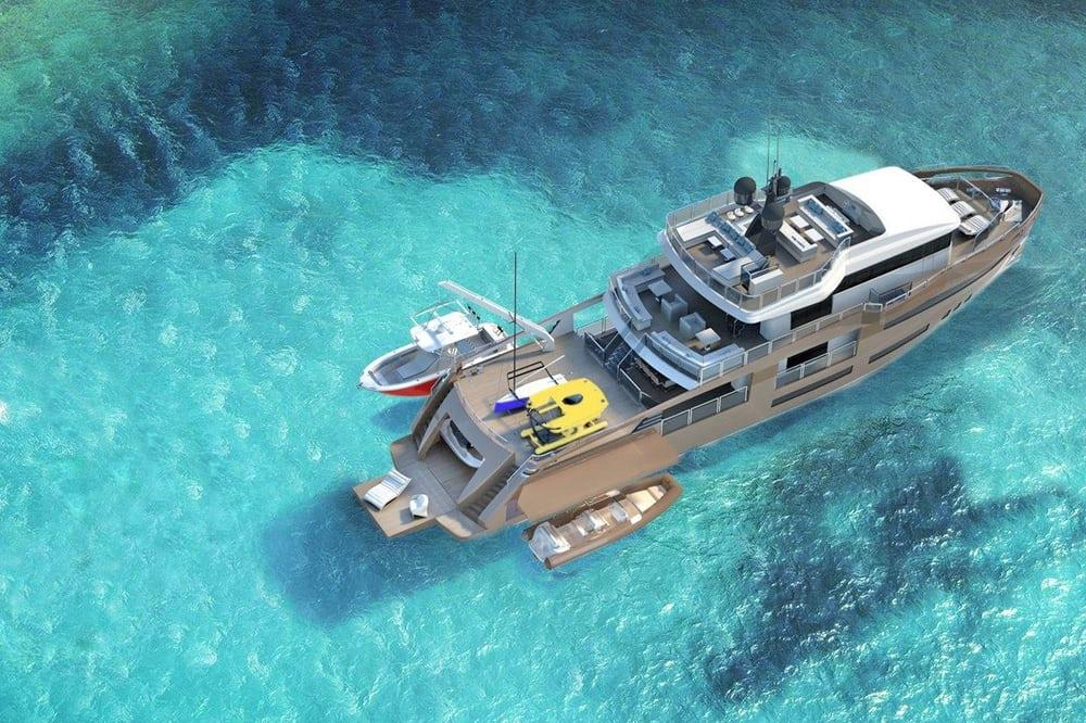 The Oceanemo 33 has all the room you need for your water-going toys
