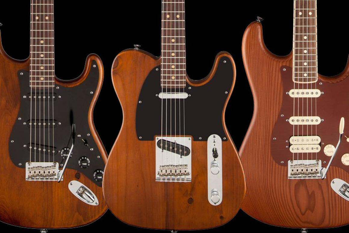 Fender releases limited edition reclaimed wood guitars