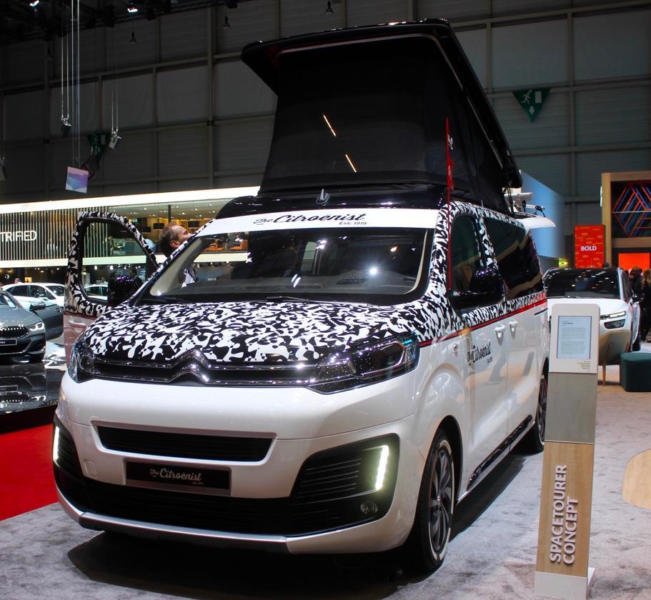 SpaceTourer The Citroënist Conceptat the 2019 Geneva Motor Show