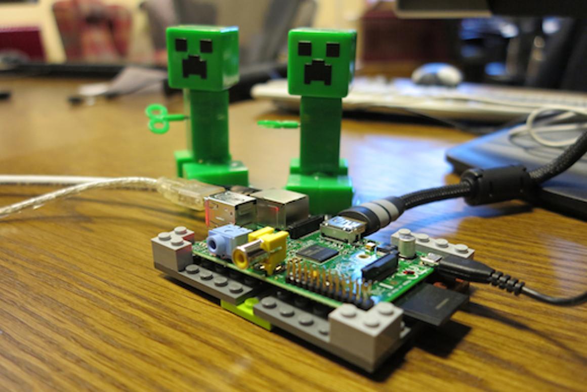 A Mojang-owned Raspberry Pi