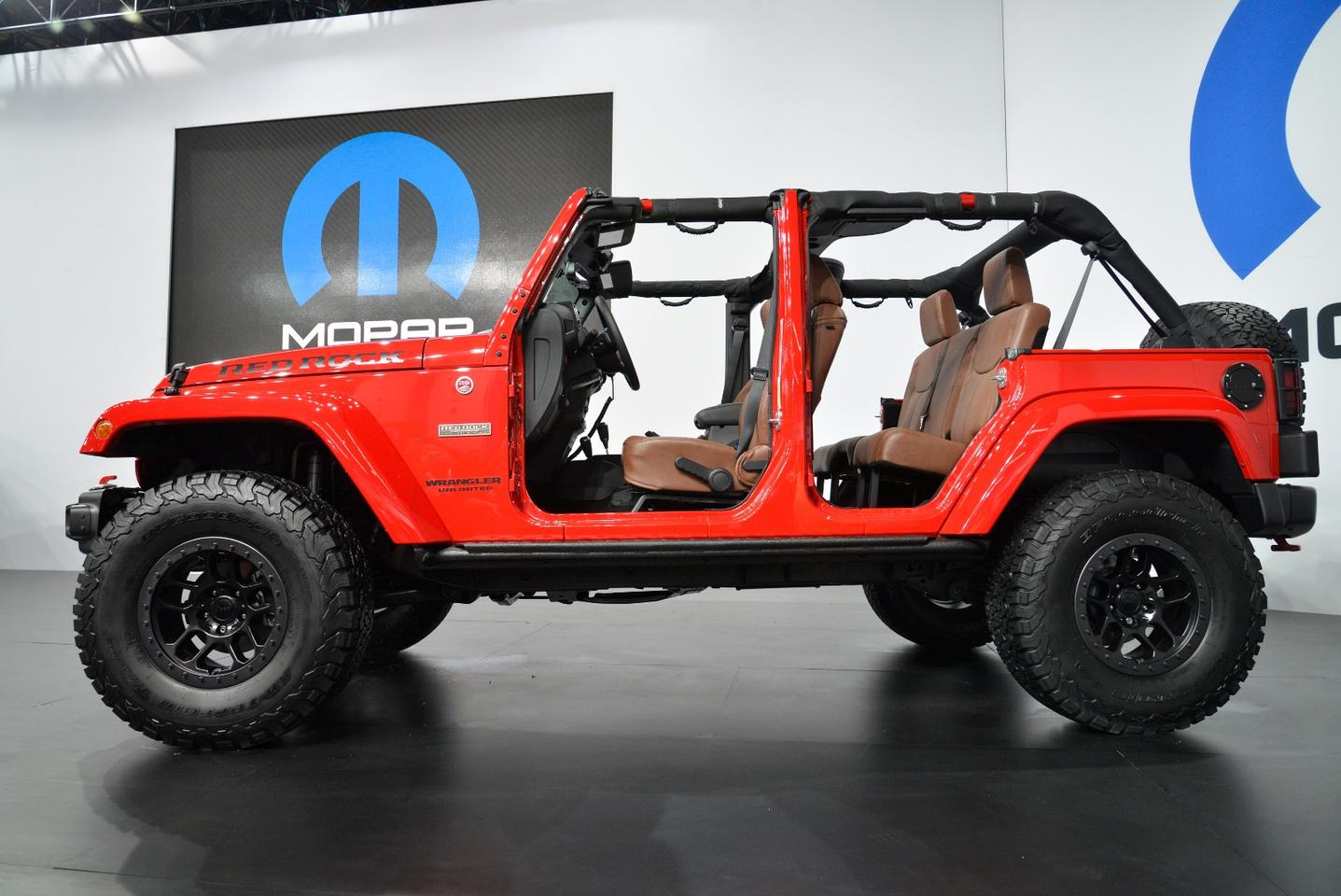 Jeep Red Rock Concept at SEMA 2015