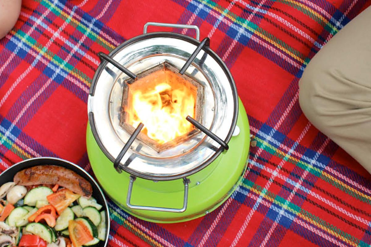 The ACE 1 can use all types of biomass fuels, giving it versatility that other stoves lack