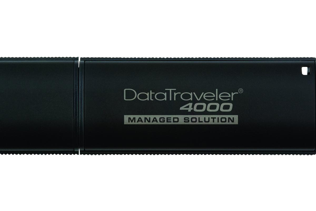 Kingston has launched a new Flash drive storage solution which offers ease-of-use functionality to users and allows security to be managed centrally