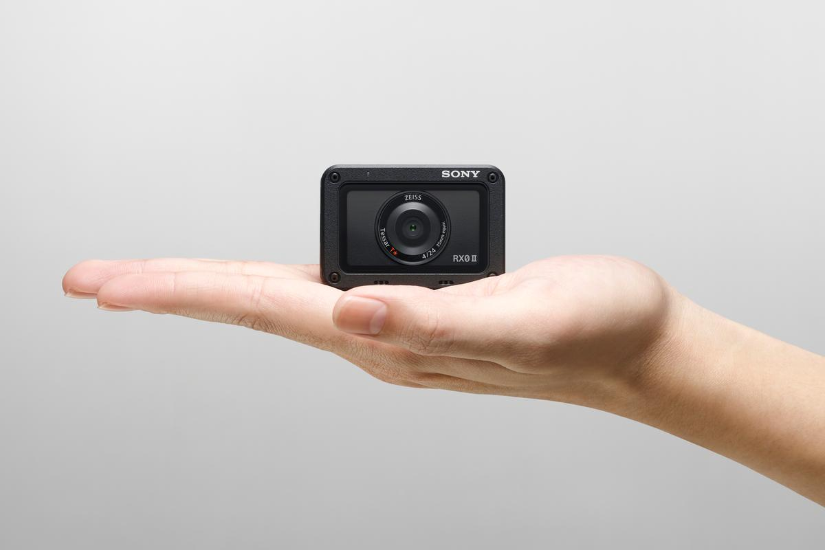 Sony's RX0 II is like a vlogger-focused GoPro with a flip-up selfie screen