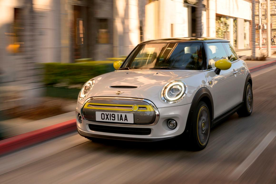 Mini's first electric, the 135-kW Cooper SE