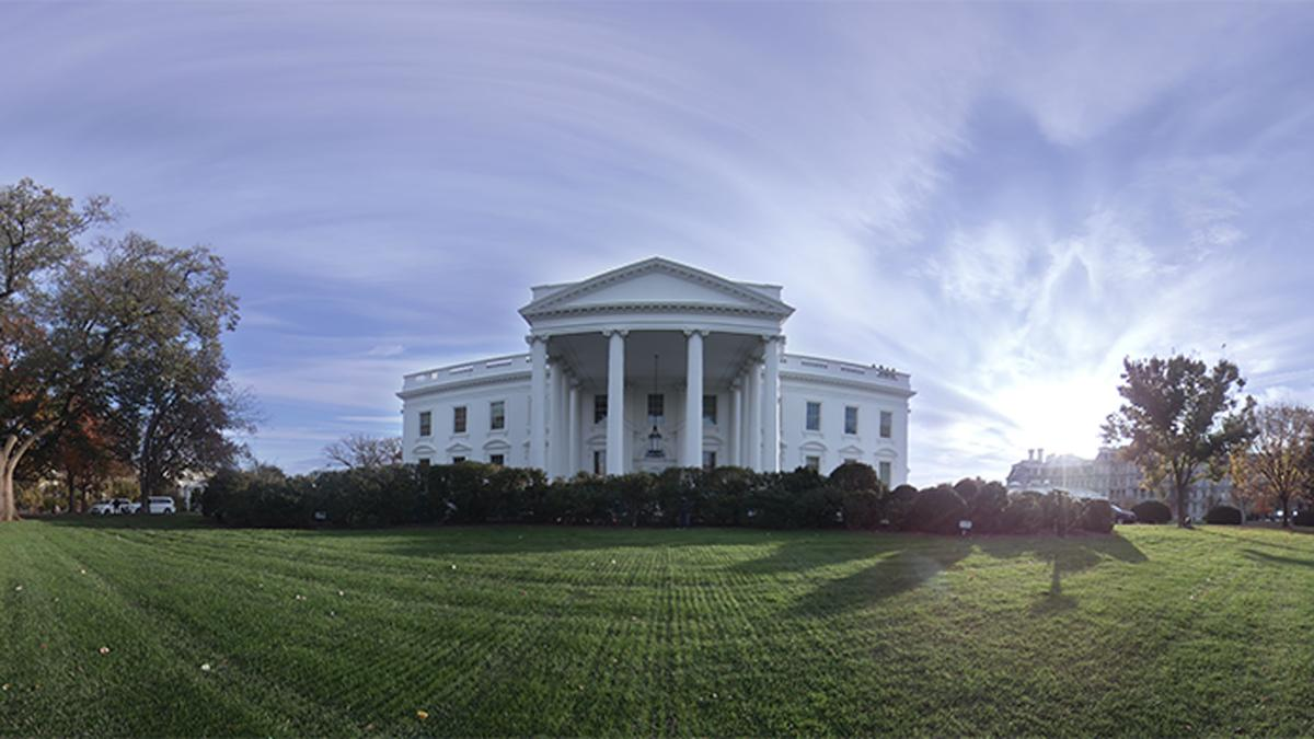 """The People's House: A Tour of the White House with Barack and Michelle Obama"" offers a personal 360-degree tour of the US presidential mansion"