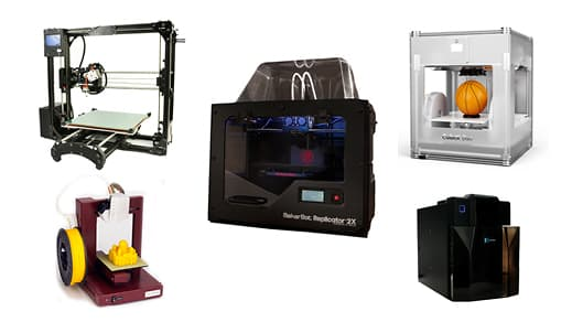 2013 3D Printer Comparison Guide