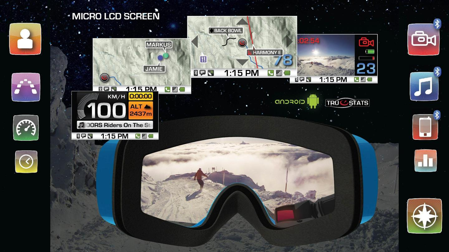 Recon Instruments has announced plans for its next generation of in-goggle display technology