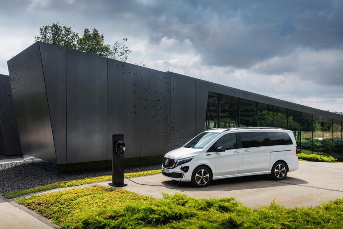 Mercedes electric van