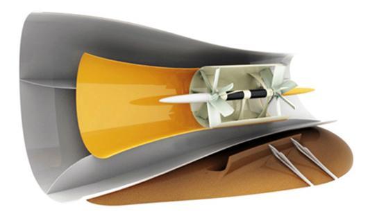 A Straight Power hydroelectric turbine