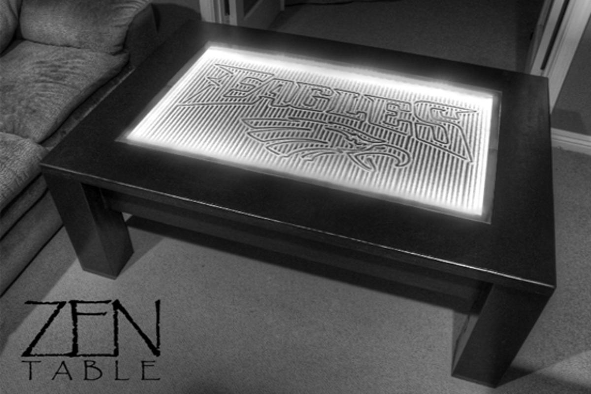 "The Zen Table is designed to get you in the right frame of mind to ""Take It Easy"""