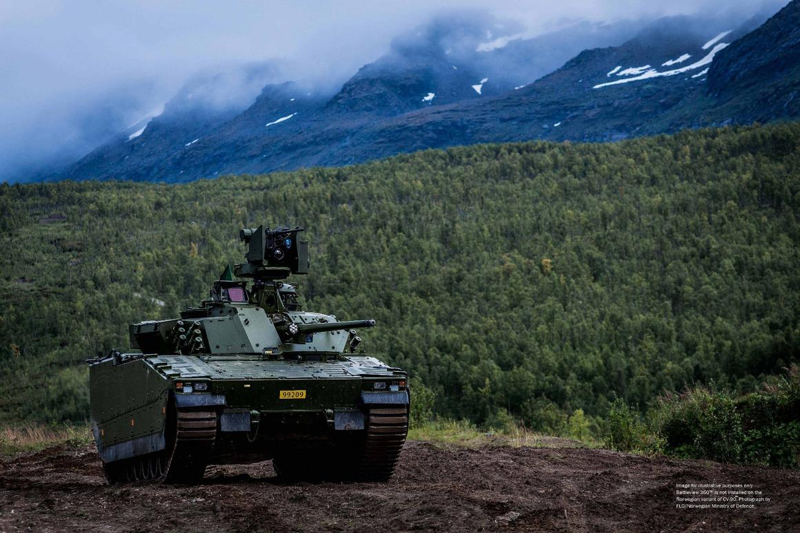 The BattleView 360 system has the potential to greatly heighten the awareness of mounted soldiers