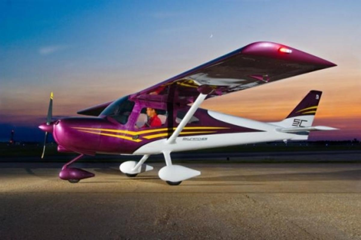 US109,500 SkyCatcher light sport aircraft