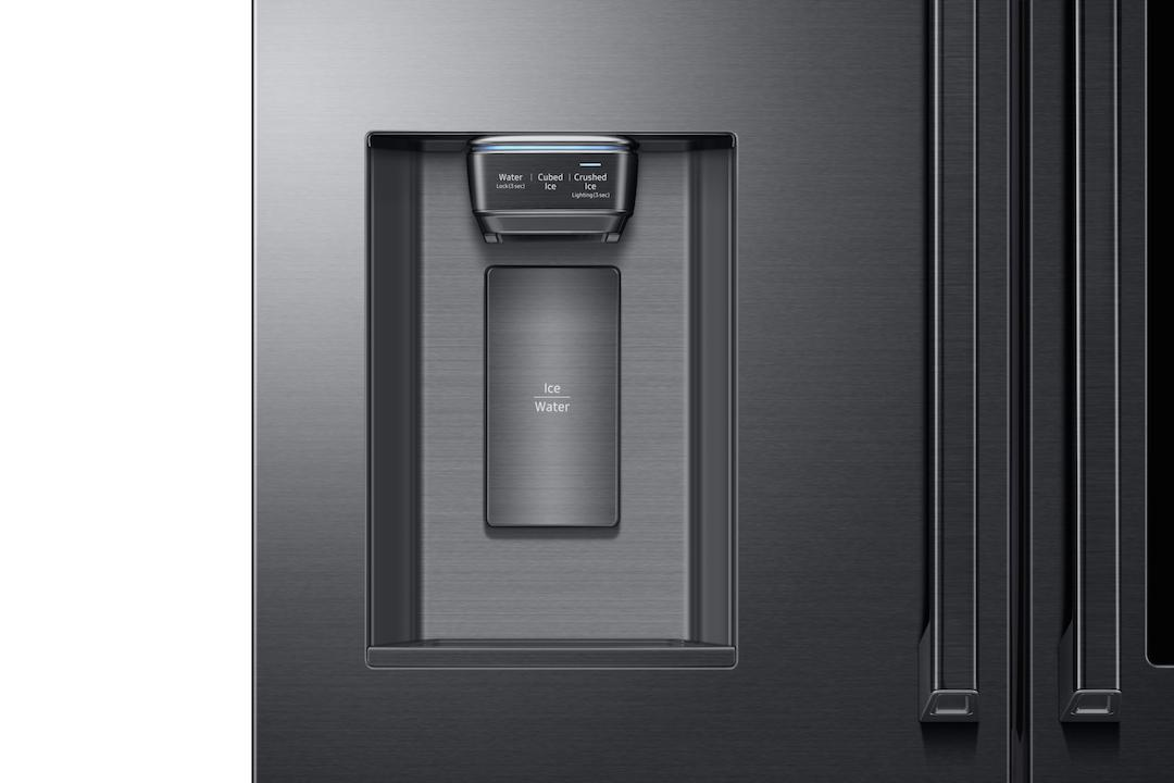 Samsung's Family Hub 2.0 fridges feature a 21.5 inch touchscreen on the door