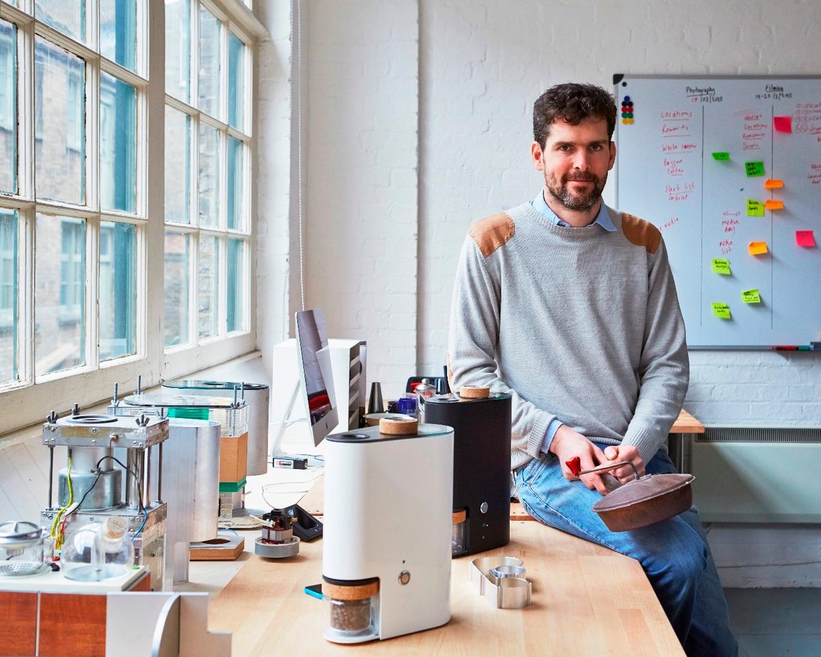 Ikawa founder Andrew Stordy