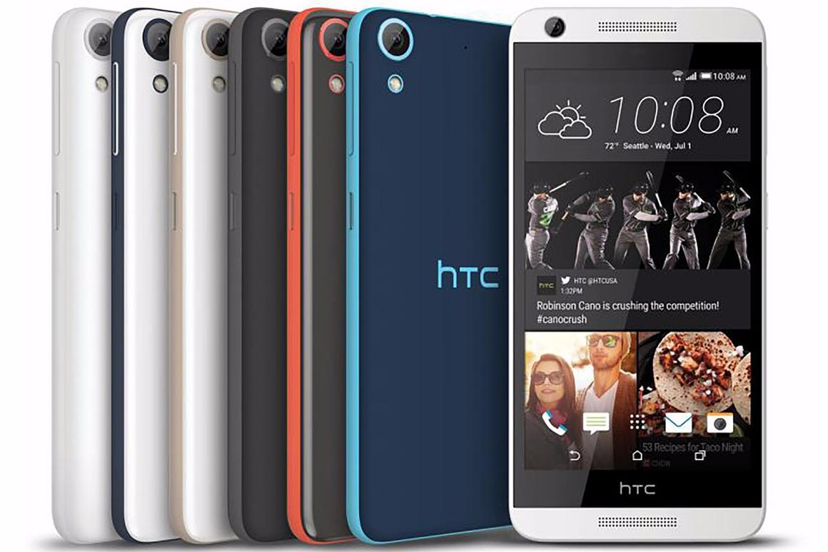 HTC's new Desire smartphones (the 626 is pictured) might be budget devices, but they all offer LTE connectivity, as well as expandable storage