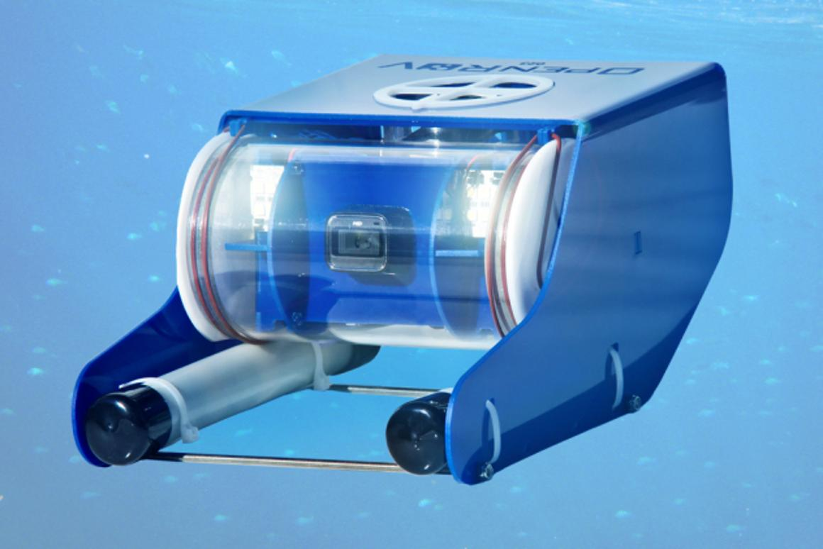 OpenROV is an underwater remote-operated vehicle that will be available in a kit or fully-assembled, for use by anyone with an interest in exploring the deep