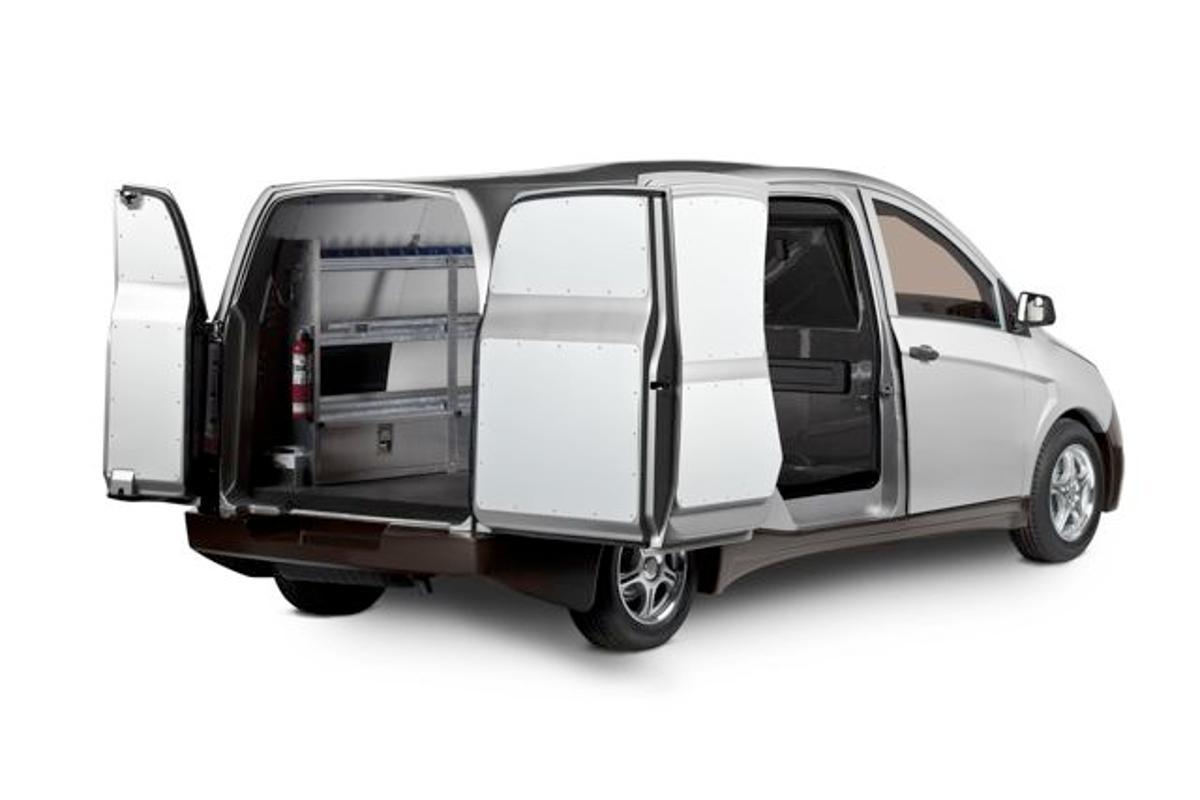 The Bright IDEA plug-in hybrid delivery van