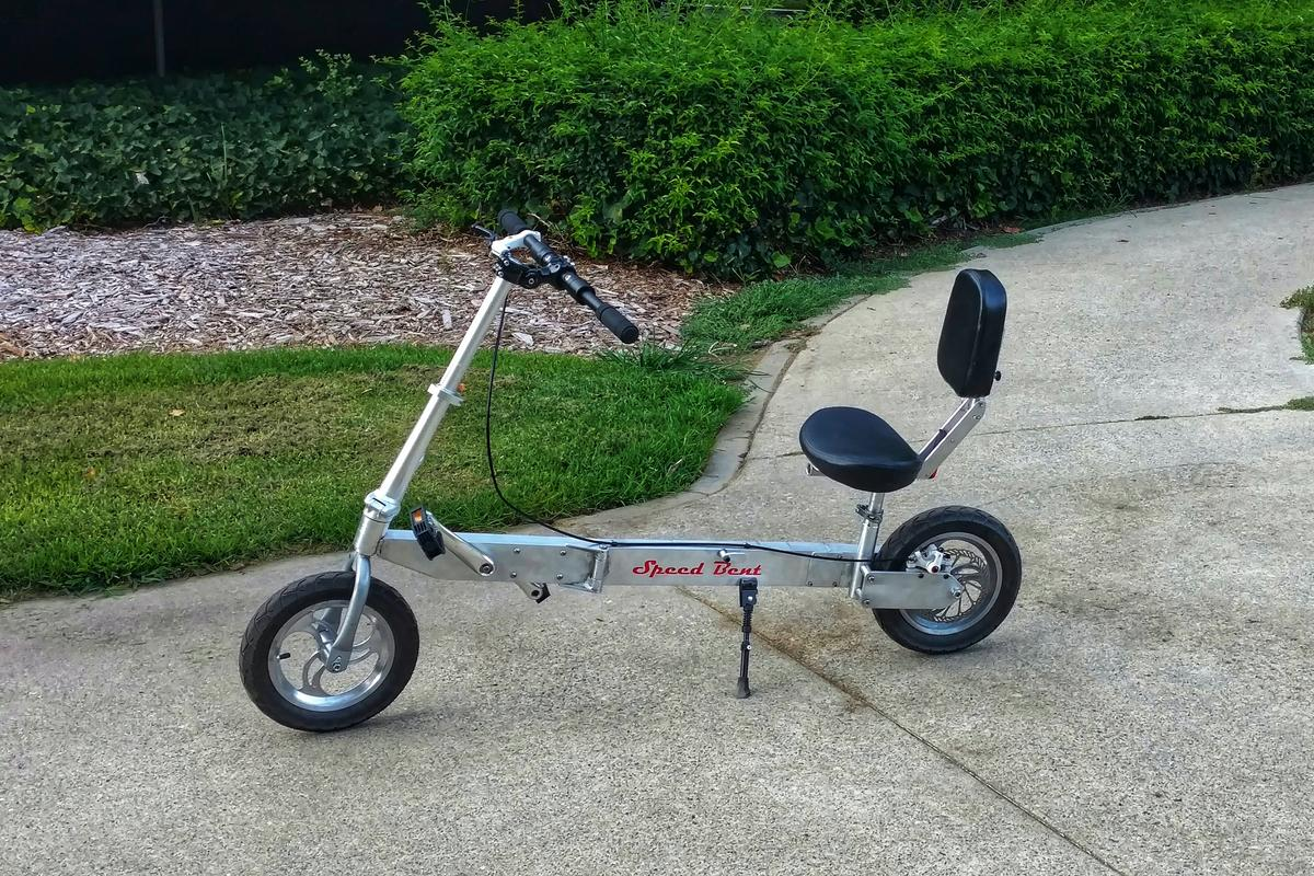 The Speed Bent is presently on Kickstarter