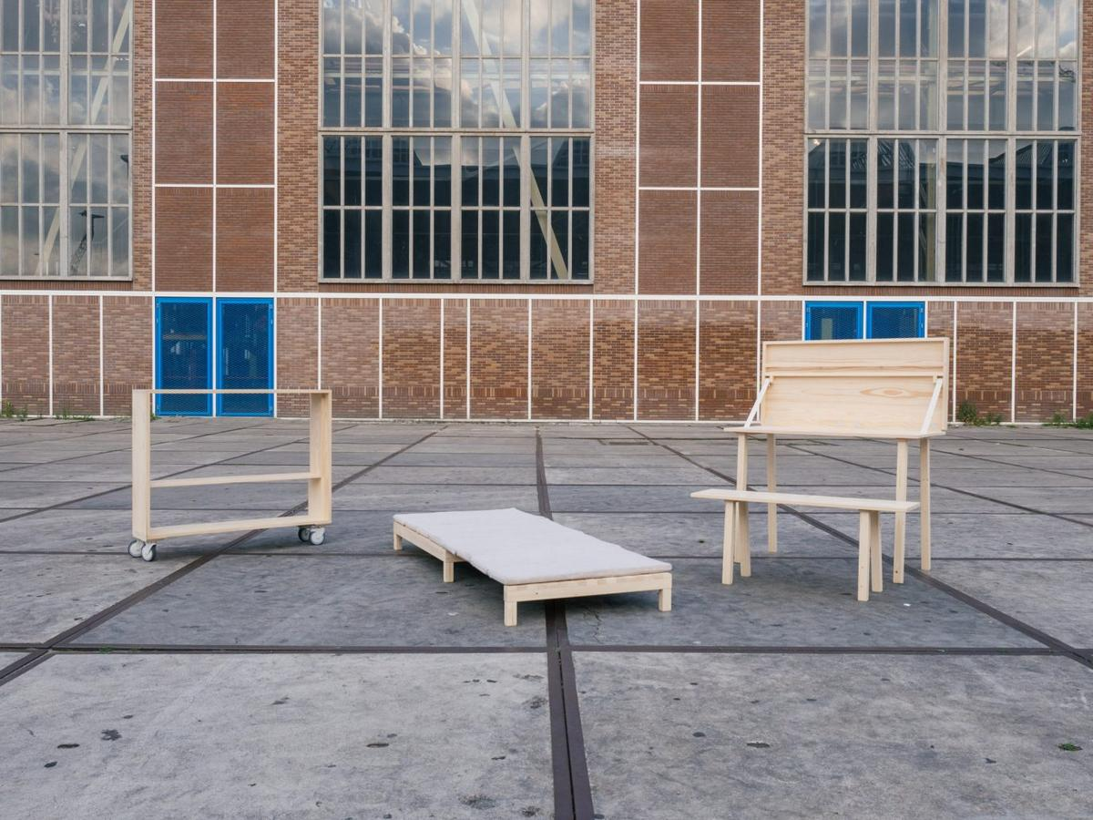 The Nest collection by Malessa Studio was revealed during the Object Rotterdam design festival