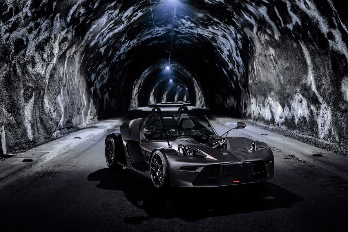 The Black Edition has been factory-tuned to kick out 320 hp