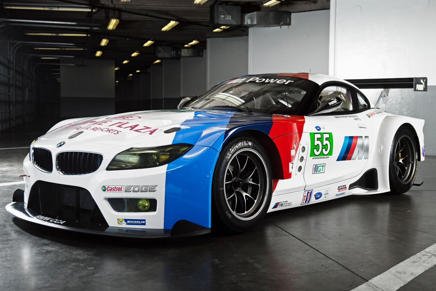 The Z4 GTE is based on the Z4 GT3