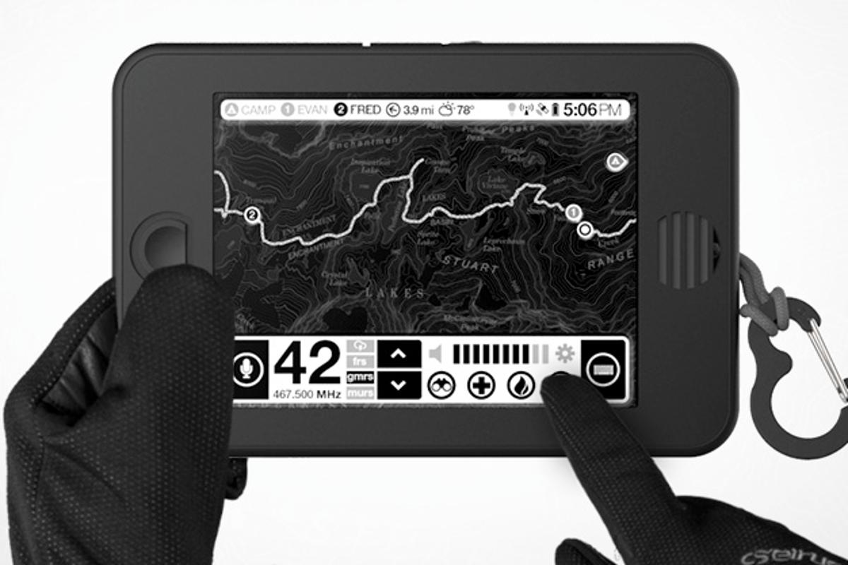 The Earl tablet could become your best friend in the outdoors, offering you navigation, communications, weather tracking and more