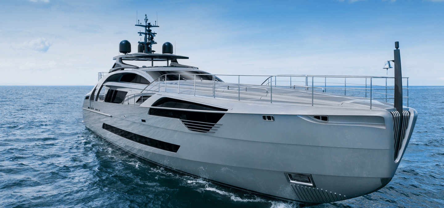 Pershing has been in the business of building luxury boats for decades, but there is a particular shine to the latest vessel to emerge from the Italian shipyard