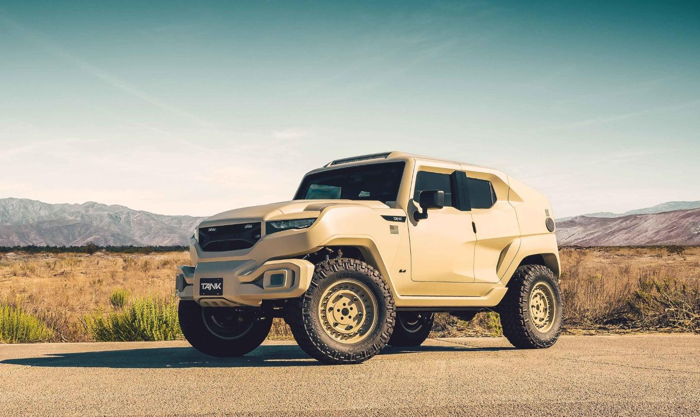 The Rezvani Tank Military Edition is 300 grand's worth of street-legal badass
