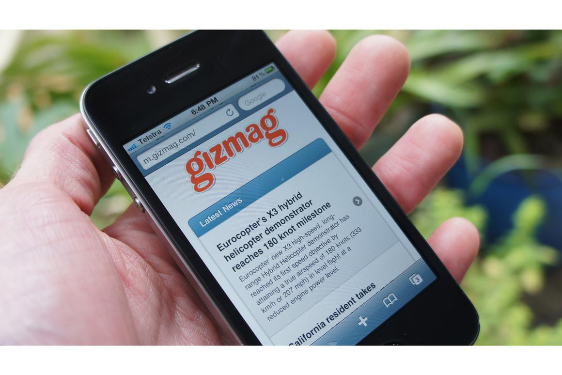 Gizmag has launched a site tailored to mobile devices - http://m.gizmag.com/