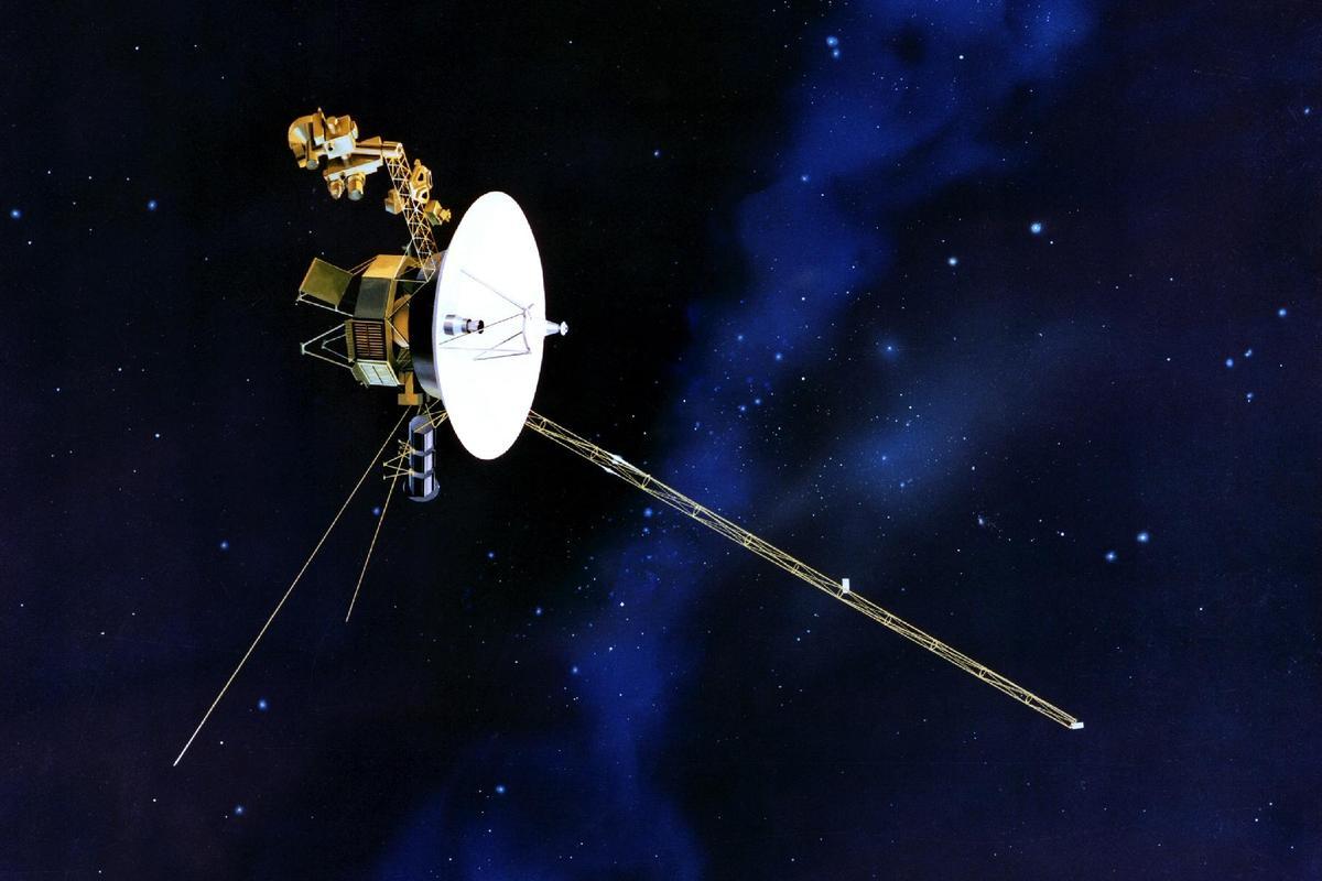 Artist's impression of Voyager 1 (Image: NASA)