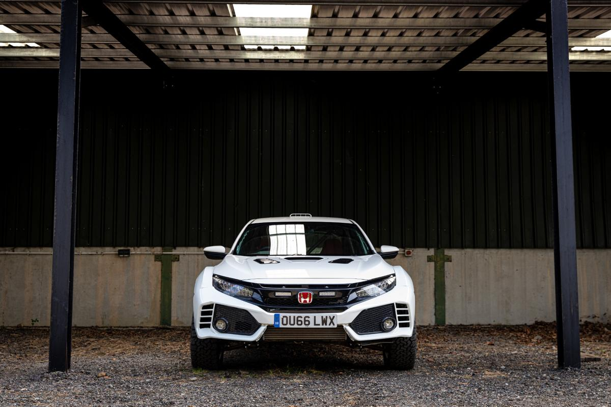 Modifications for The Team Dynamics Motorsport's Civic Type R concept are mostly off-the-shelf with a few custom-designed changes also being included