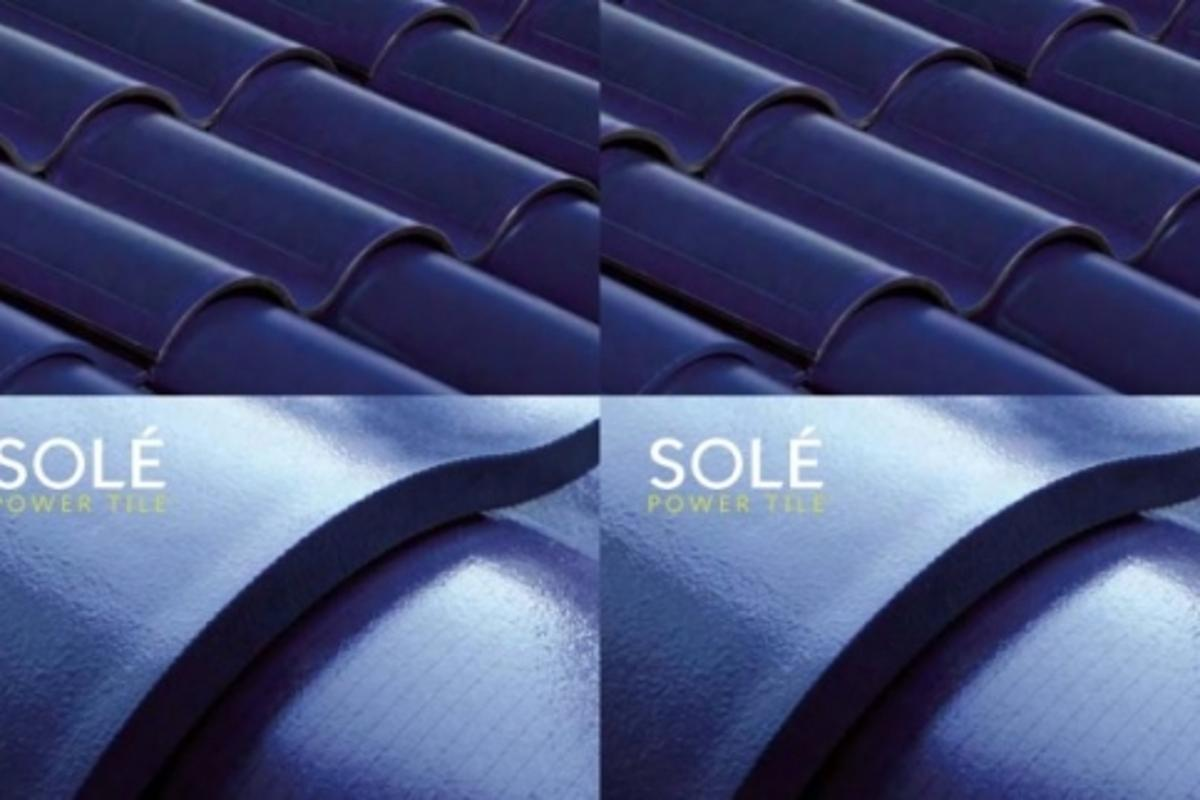 The Solé Power Tile is the first building-integrated photovoltaic roofing product and exclusively available to customers of US Tile