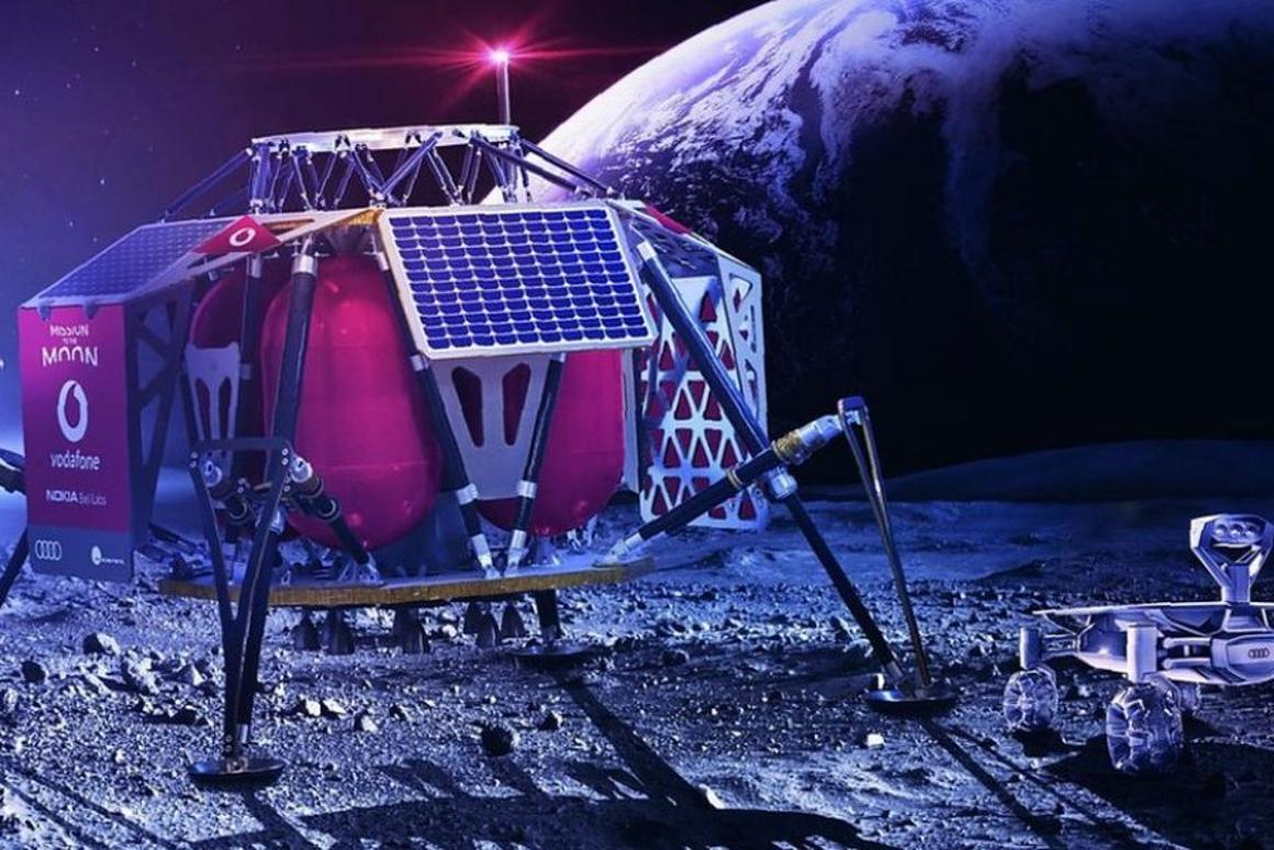 Vodafone 4G network will enablelive-streaming of HD video from the Moon's surface