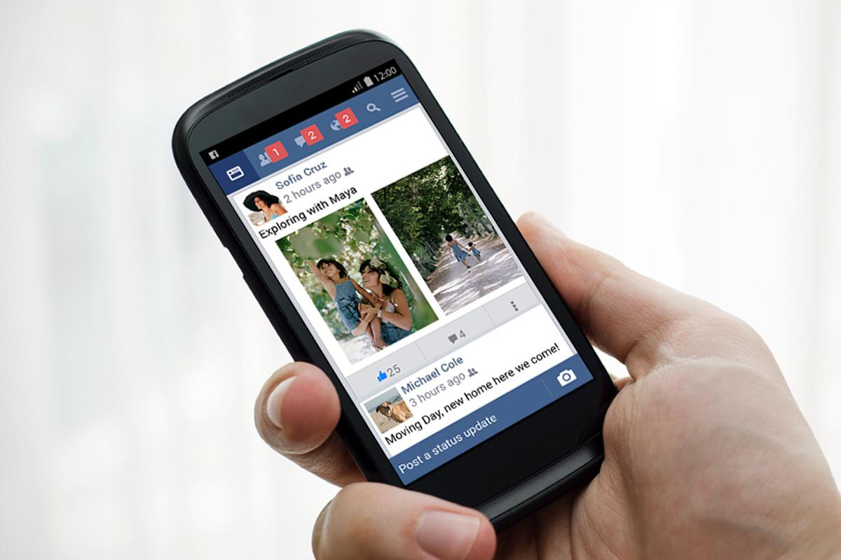 Facebook Lite incorporates main features, such as the News Feed, status updates, photos and notifications