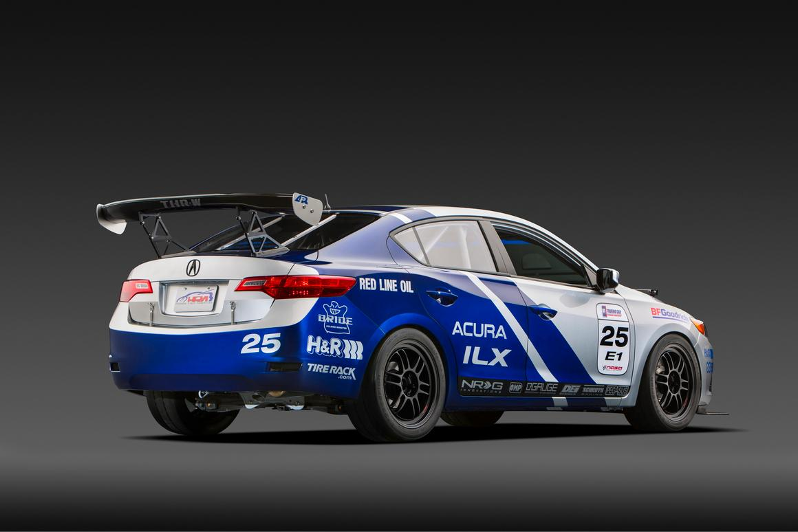 The ILX Endurance Racer gets tuned for racing