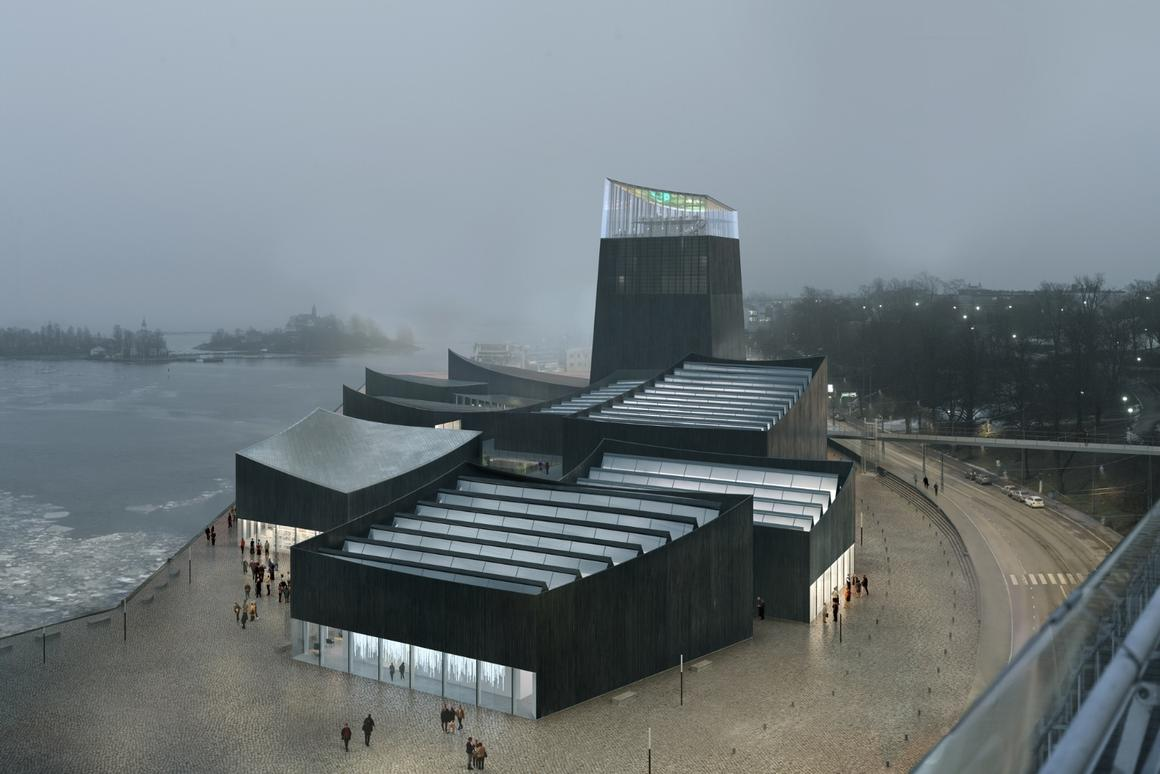 Art in the City, by Paris-based Moreau Kusunoki, has won the Helsinki Guggenheim architecture competition