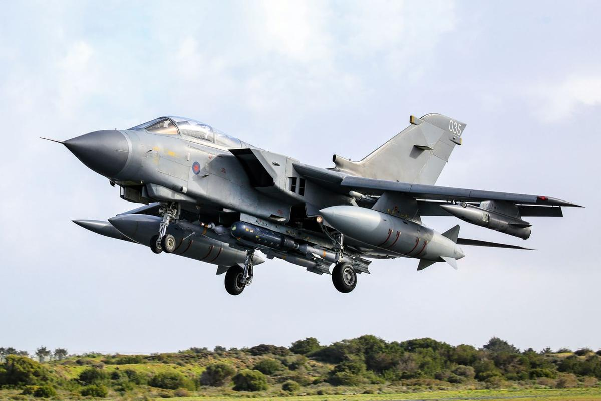 The Tornado served with the RAF for 40 years