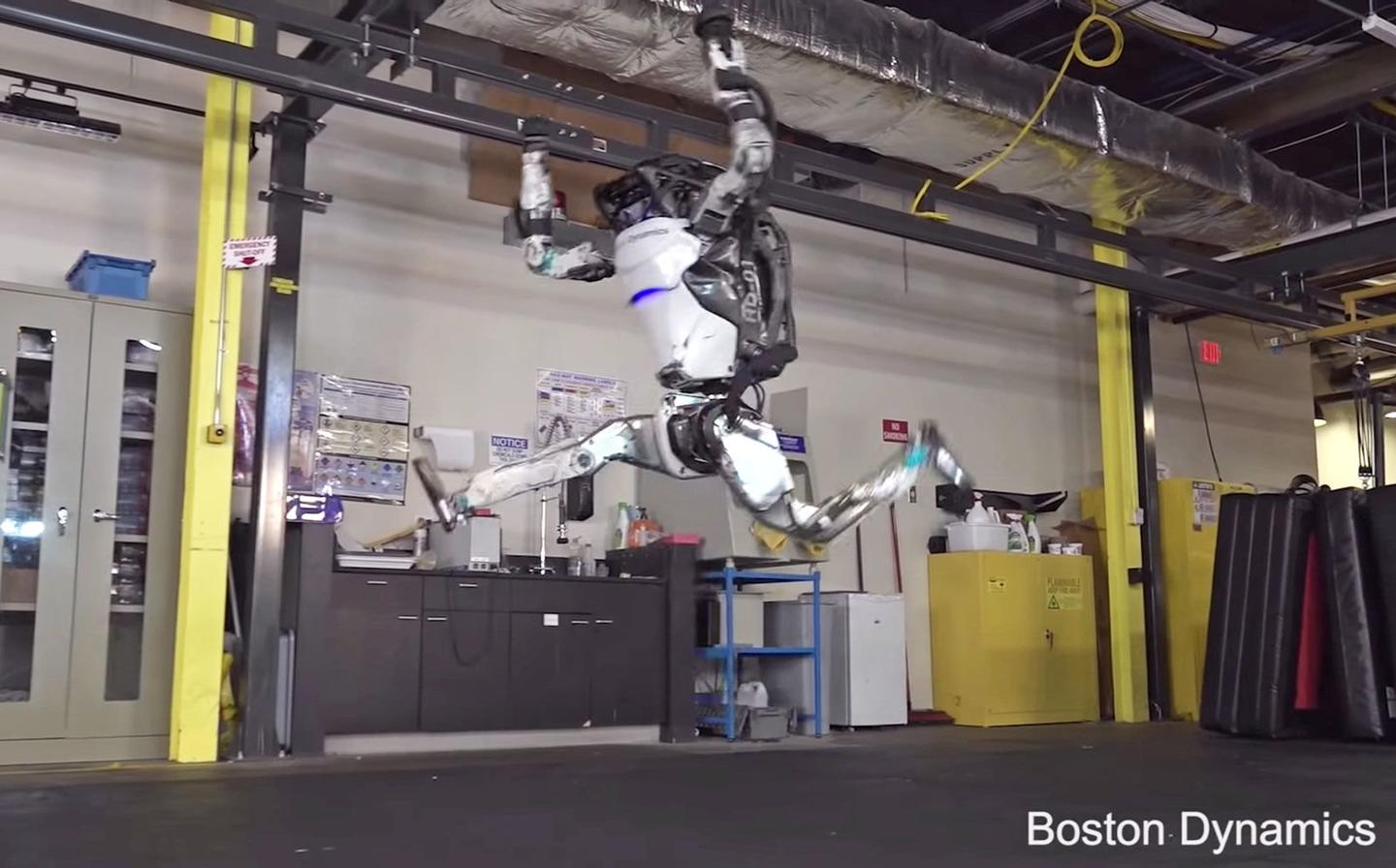 Atlas can now perform complex gymnastic routines