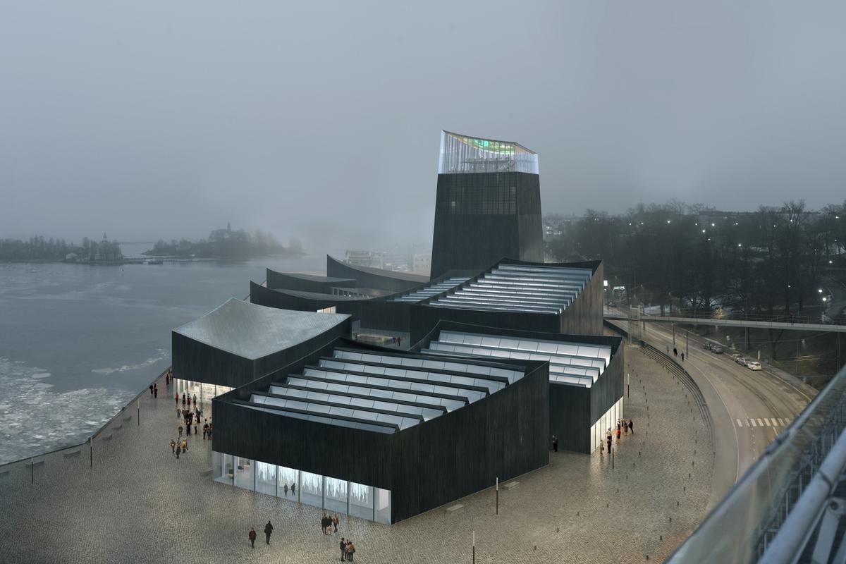 Art in the City, by Paris-based Moreau Kusunoki, has won the Helsinki Guggenheim architecture competition
