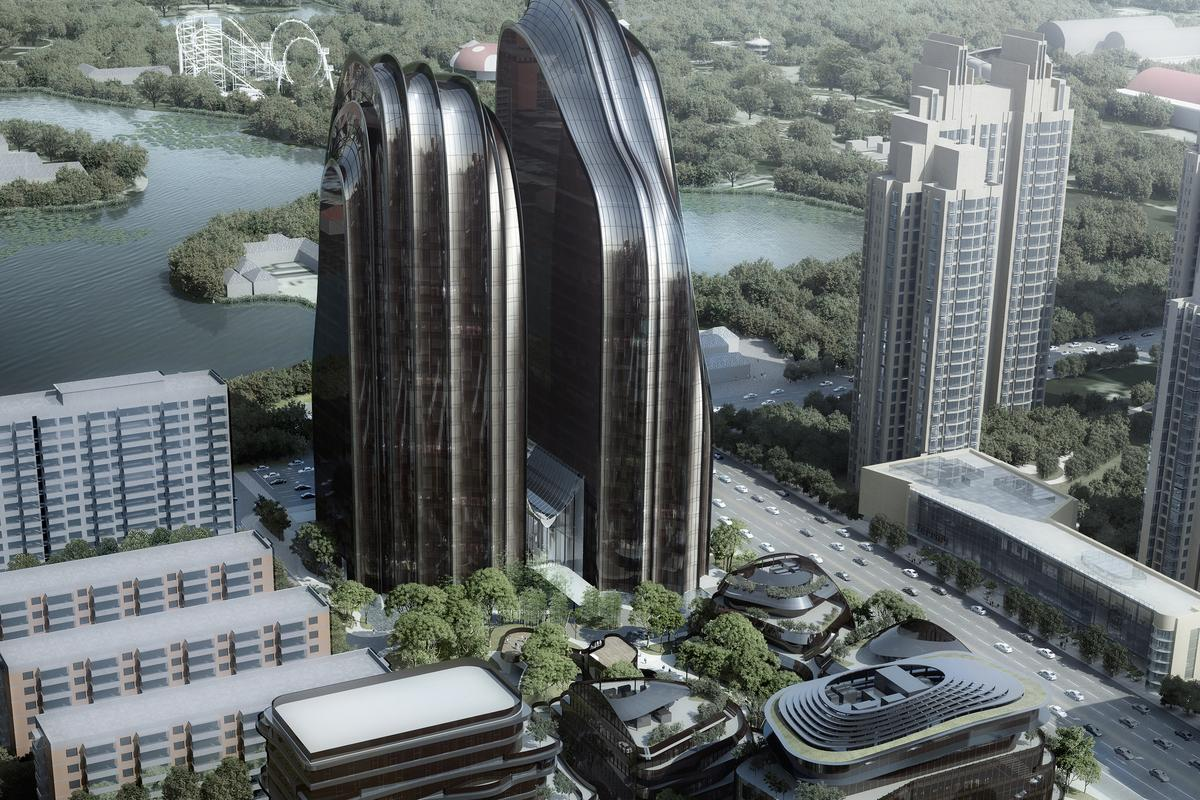 Chaoyang Park Plaza, by MAD Architects (Image: MAD)